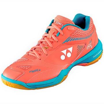 【YONEX】POWER CUSHION 65 Z2 LADIES珊瑚橘女款羽球鞋