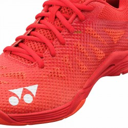 【YONEX】POWER CUSHION A3紅 男款選手級羽球鞋