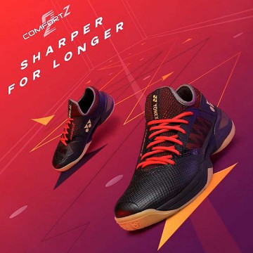 【YONEX】POWER CUSHION COMFORT Z 2 MENS黑紅 林丹二代羽球鞋