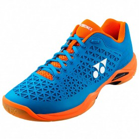 【YONEX】POWER CUSHION ECLIPSION X 藍/橘羽球鞋(男女款)
