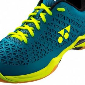 【YONEX】POWER CUSHION ECLIPSION X 土耳其藍/黃羽球鞋(男女款)