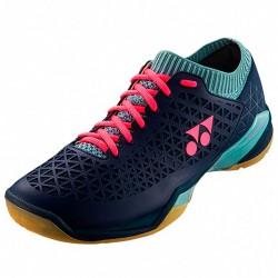 【YONEX】POWER CUSHION ECLIPSION Z WIDE丈青藍/冰藍 寬楦羽球鞋(男女款)