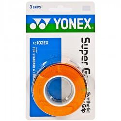 【YONEX】AC102EX三條裝握把皮(薄0.6mm)