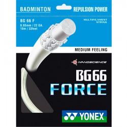 【YONEX】BG66 FORCE 強力扣殺與控球羽拍線(0.65mm)