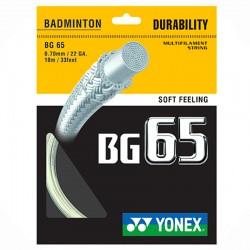 【YONEX】BG65優越的耐用羽拍線(0.70mm)