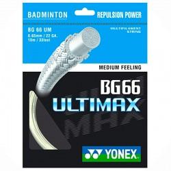 【YONEX】BG66UM控球耐久羽拍線(0.65mm)