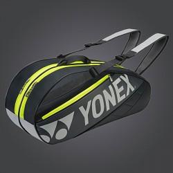 【YONEX】BAG7626EX-144黑灰6支裝雙肩雙色羽拍包