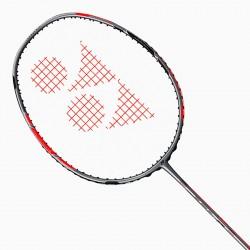 【YONEX】DUORA 77灰紅提升擊球威力與回擊速度全方位羽球拍