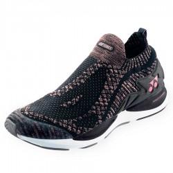 【YONEX】SAFERUN 950LEX粉 降低膝蓋壓力吸震舒適慢跑鞋(女款)
