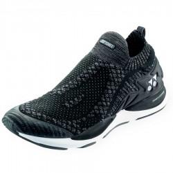 【YONEX】SAFERUN 950MEX黑 降低膝蓋壓力吸震舒適慢跑鞋(男款)