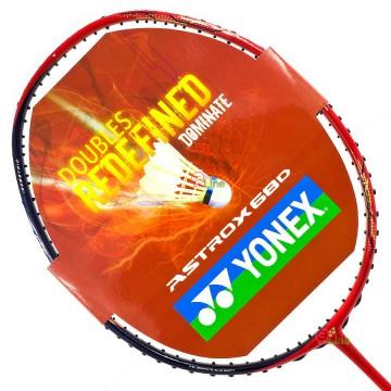 【YONEX】ASTROX 68D黑紅 大甜蜜點提升穩定性攻擊羽球拍