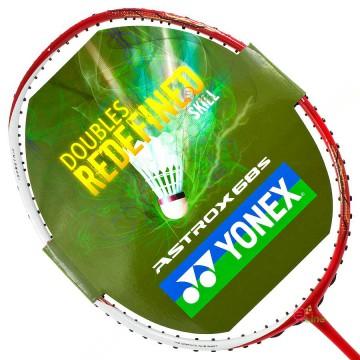 【YONEX】ASTROX 68S白紅 大甜蜜點提升穩定性速度羽球拍