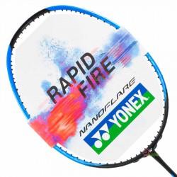 【YONEX】NANOFLARE 370 SPEED黑藍 頭重攻擊羽球拍