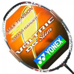 【YONEX】VOLTRIC 21DG SLIM紅黑 3U頭重耐35磅強力扣殺羽球拍