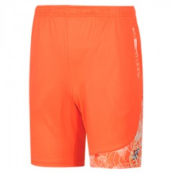 【YONEX】12000TR-686閃亮橘 專業比賽羽球短褲