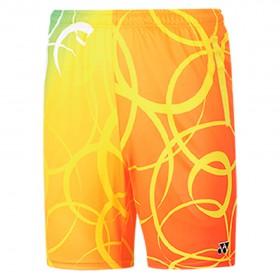 【YONEX】12010TR-279淺黃 專業比賽羽球短褲