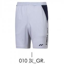 【YONEX】12070TR-010灰 男款羽球短褲