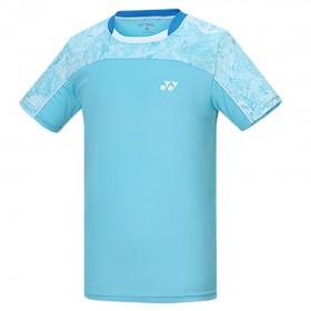 【YONEX】13000TR-131深薄荷綠 專業男款羽球比賽服