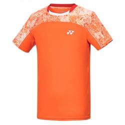 【YONEX】13000TR-686閃亮橘 專業男款羽球比賽服