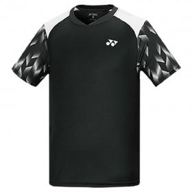 【YONEX】13020TR-007黑 專業男款羽球比賽服