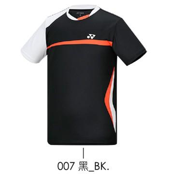 【YONEX】13080TR-007黑 男款羽球服