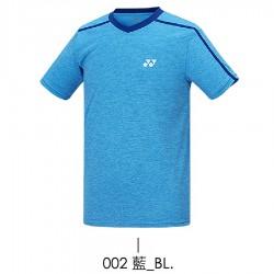 【YONEX】13100TR-002藍 男款羽球服