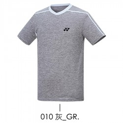 【YONEX】13100TR-010灰 男款羽球服