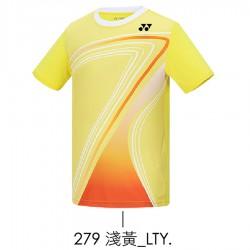 【YONEX】13170TR-279淺黃 親子款羽球服