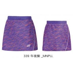 【YONEX】22549TR-339午夜紫 專業羽球比賽褲裙
