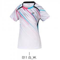【YONEX】23040TR-011白 女款羽球服