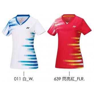 【YONEX】23060TR-011白 女款羽球服
