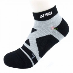 【YONEX】14510TR黑 抗菌極厚男短襪