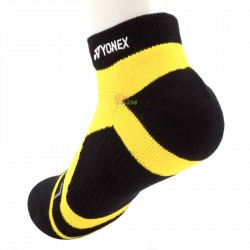 【YONEX】14510TR黑黃 抗菌極厚男短襪