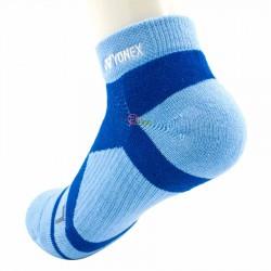 【YONEX】14510TR水藍 抗菌極厚男短襪
