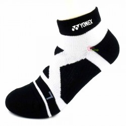 【YONEX】24510TR黑 抗菌極厚女短襪
