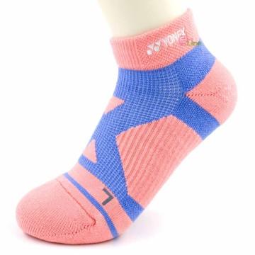 【YONEX】24510TR粉 抗菌極厚女短襪