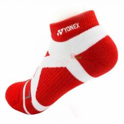 【YONEX】24510TR日落紅 抗菌極厚女短襪
