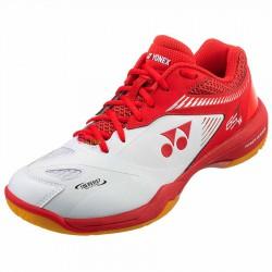【YONEX】POWER CUSHION 65 Z2 WIDE白紅 寬楦羽球鞋