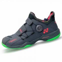 【YONEX】POWER CUSHION 88 DIAL黑灰綠 快速綁帶轉轉羽球鞋