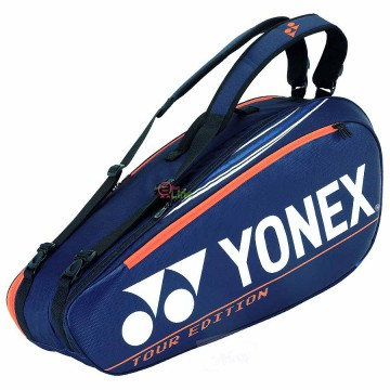 【YONEX】BA92026EX深丈青藍 防熱保護6支裝雙肩羽拍包