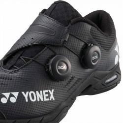 【YONEX】POWER CUSHION INFINITY黑 快速綁帶轉轉羽球鞋