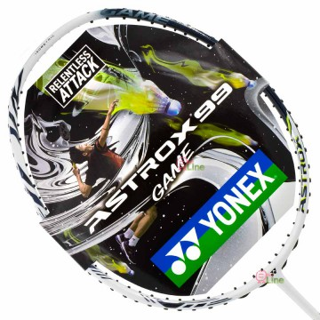 【YONEX】ASTROX 99GAME白 強化揮拍力量羽球拍