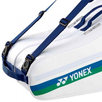 【YONEX】75TH BA26AEEX白 6支裝雙肩羽拍包