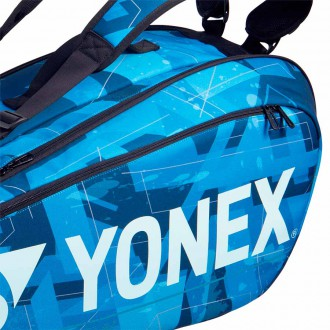 【YONEX】BA92026EX水藍 6支裝雙肩羽拍包