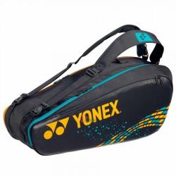 【YONEX】BA92026EX駱駝金 6支裝雙肩羽拍包