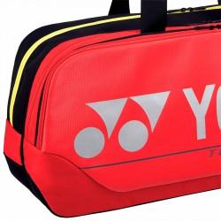 【YONEX】BA92031WEX紅 矩型雙夾層手提側背拍包