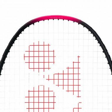 【YONEX】NANOFLARE FEEL桃紅 輕量碳纖4U穿線入門羽球拍