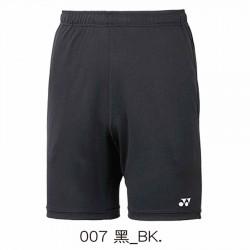 【YONEX】12019TR-007黑 男款羽球針織短褲