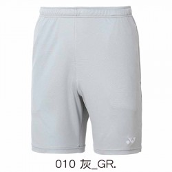 【YONEX】12019TR-010灰 男款羽球針織短褲