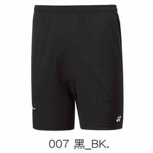 【YONEX】12060TR-007黑 男款羽球針織短褲